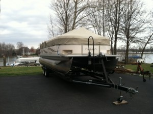 Morse Lake Boating