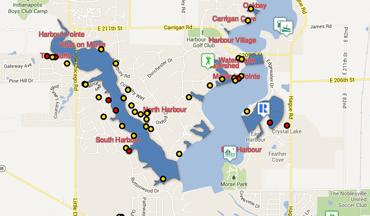 Morse Lake Map