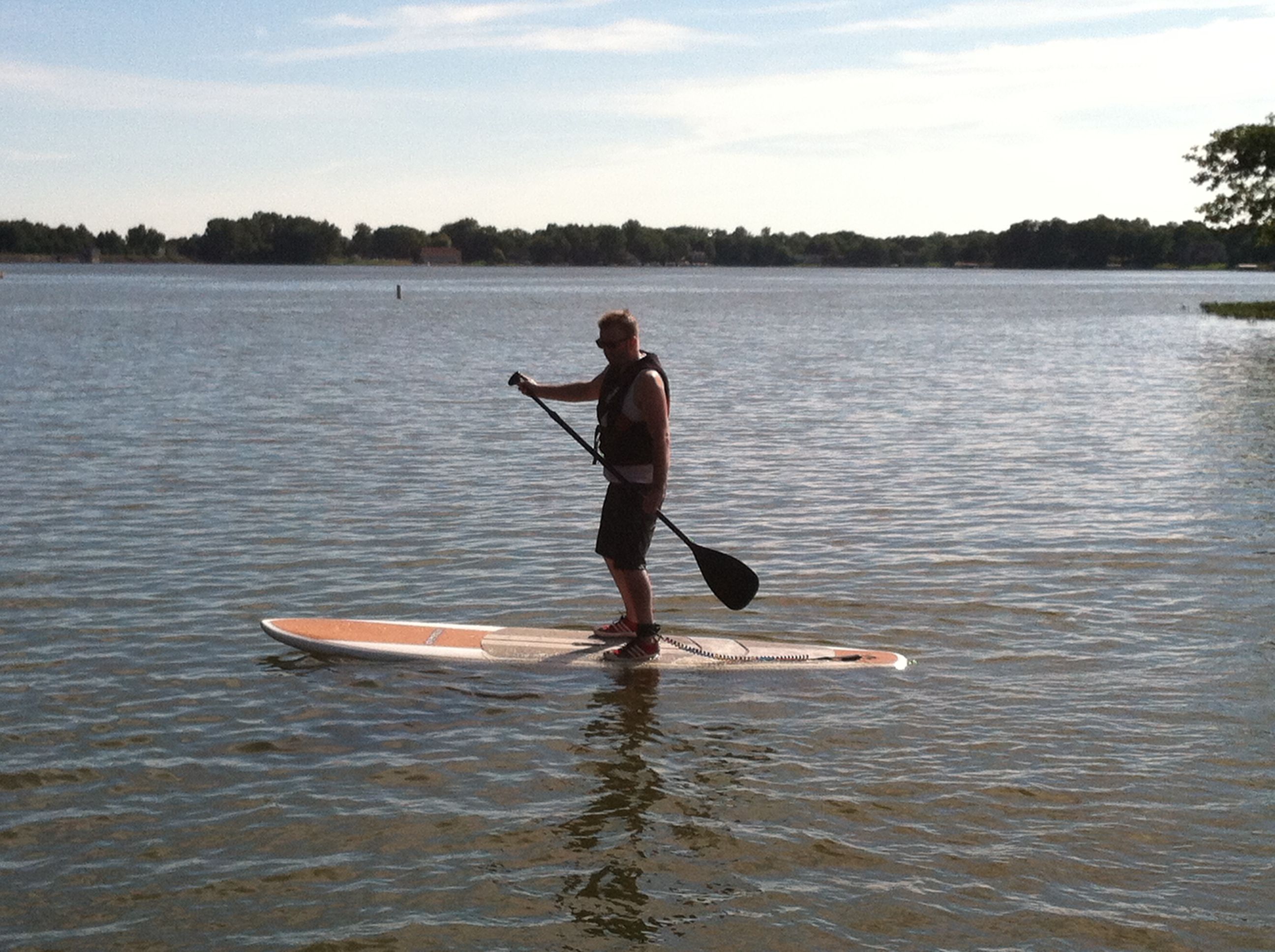 Morse Lake - Paddle Boarding
